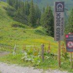 Einfahrt in den Trail