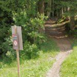 Hier endet der Trail Hardrock