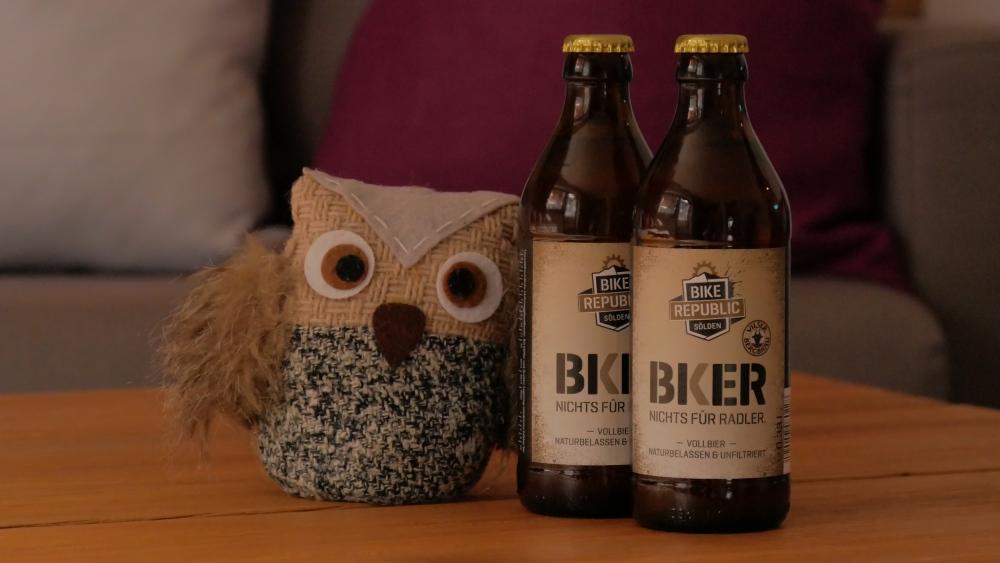 Eduard mit original Söldner Biker Bier