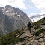 steinige Ollweite Line in der Bikerepublic Sölden