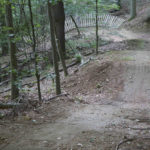 Abschnitt 5 im Emser Bikepark